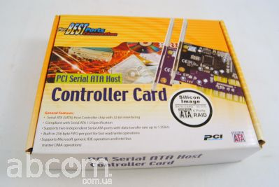 Сontroller PCI 2-channel Serial-ATA host