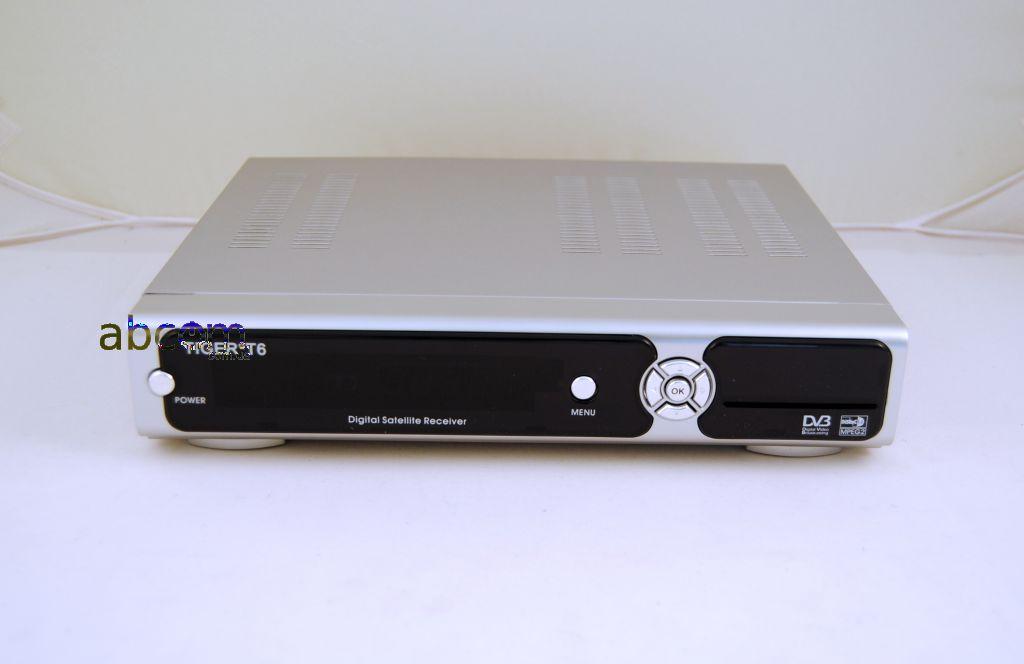 Бюджетная версия цифрового спутникового ресивера с установленной сетевой платой (LAN) для просмотра бесплатных и платных каналов.