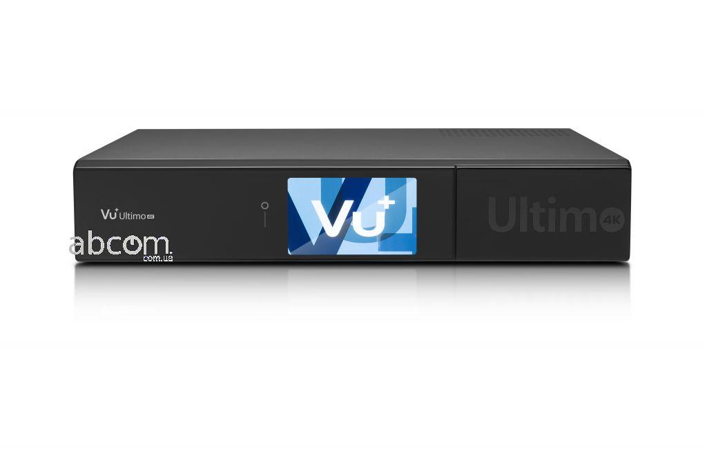 Комбинированный ресивер Vu+Ultimo 4K для качественного воспроизведения изображения Ultra HD